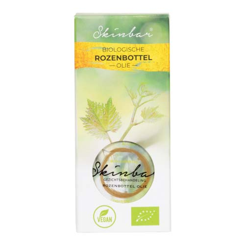 Verpakking biologische rozenbottel olie